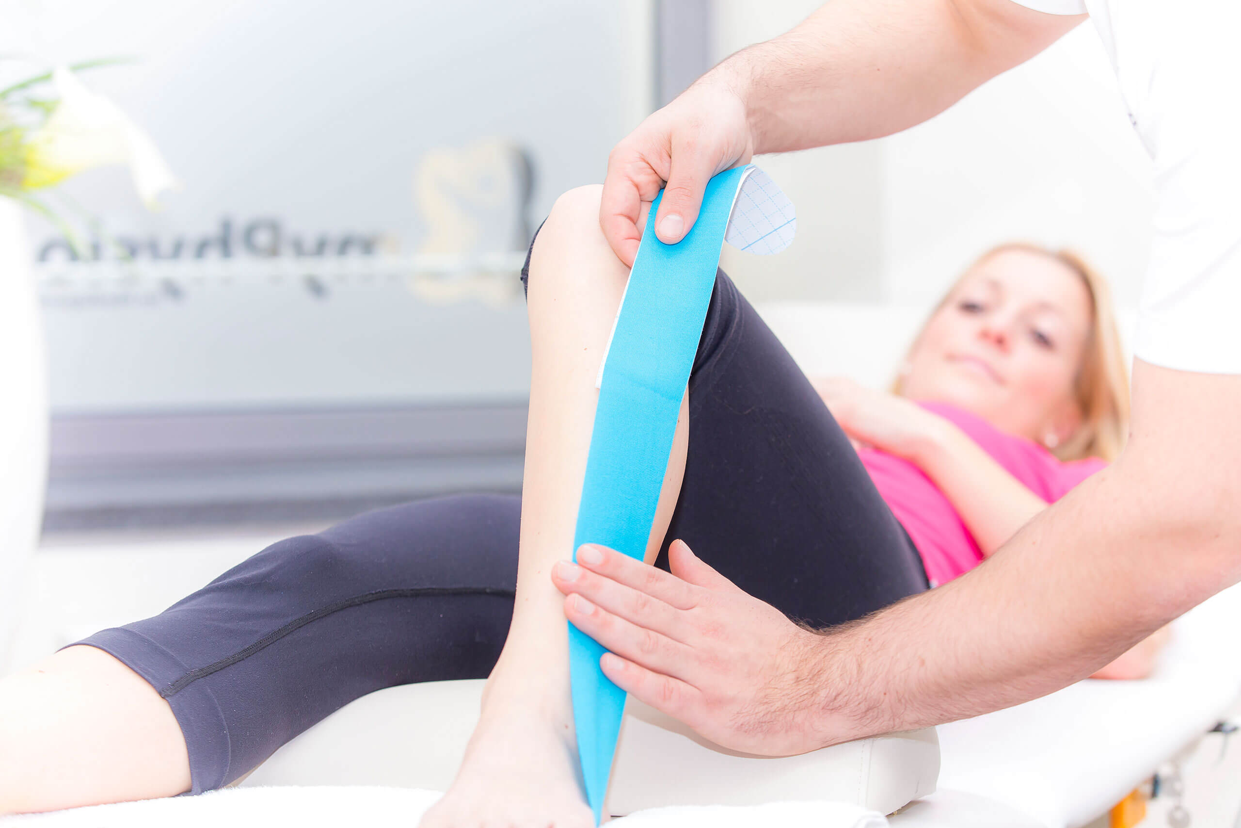 myPhysio Physiotherapie Deutschland Kinesio Tape